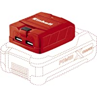 Einhell 4514120 Akumulator Litowo-Jonowy bez Baterii i Ładowarki, 18 V, Czerwony