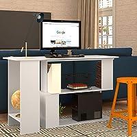 Escrivaninha Tampo Giratório Nova Mobile B07 Branco