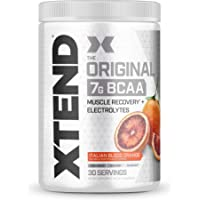 Scivation Xtend BCAA Powder, Blood Orange - 30 Servings