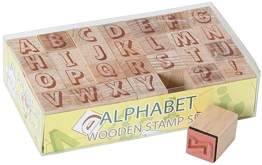 12 opinioni per ABC- Timbri di legno, lettere dell'alfabeto