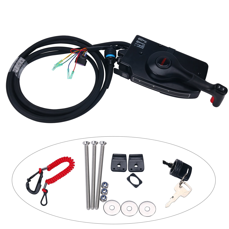remote control box mercury mariner w 15 ft wiring harness