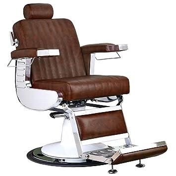 Amazon.com: Keller Parlour silla de peluquería, café castaño ...