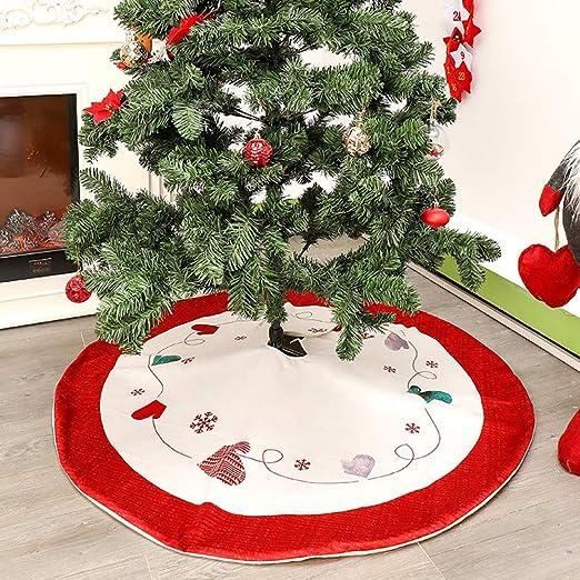 lulalula - Falda de árbol de Navidad Decorativa, 47 Faldas para ...