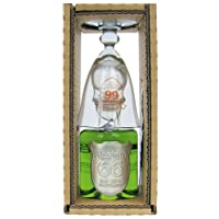 Absinth - 66 Abtshof Single-Set 66% Vol. - 0,2l incl. Absinthlöffel & -glas