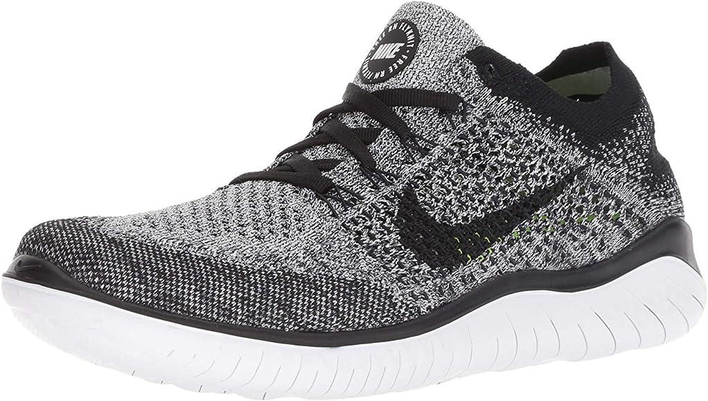Nike Wmns Free RN Flyknit 2018, Zapatillas de Running para Mujer, Blanco (White/Black 101), 36.5 EU: Amazon.es: Zapatos y complementos