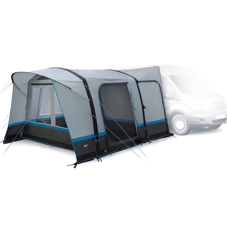 High Peak Trento Air Tent Light Grau/Dark Grau/Blau 2018 Vorzelt