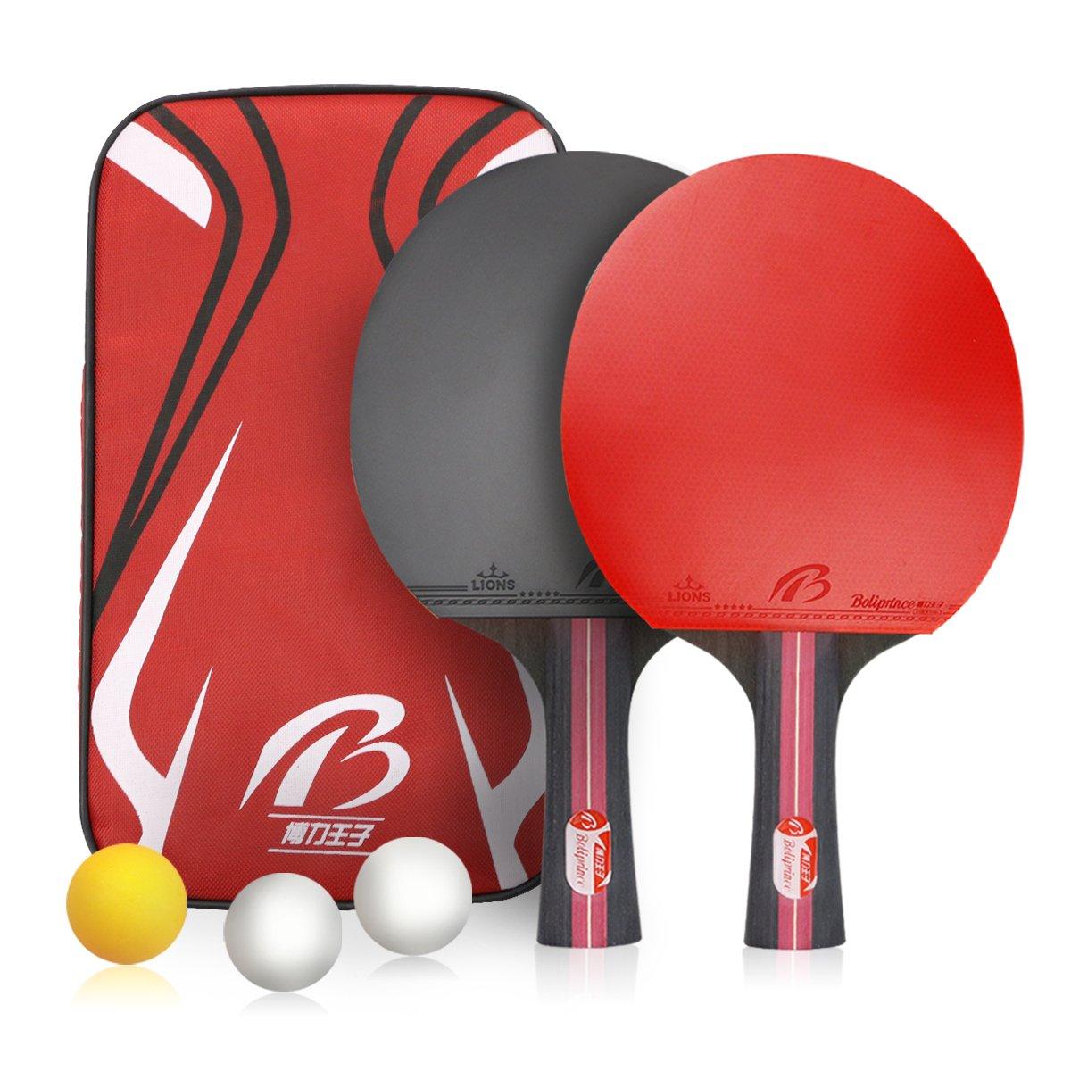 Weeygo Mixte Adult Tennis de Table Rouge S