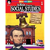 180 Days of Social Studies: Grade 1 - Daily Social Studies Workbook for Classroom and Home, Cool and Fun Civics Practice…