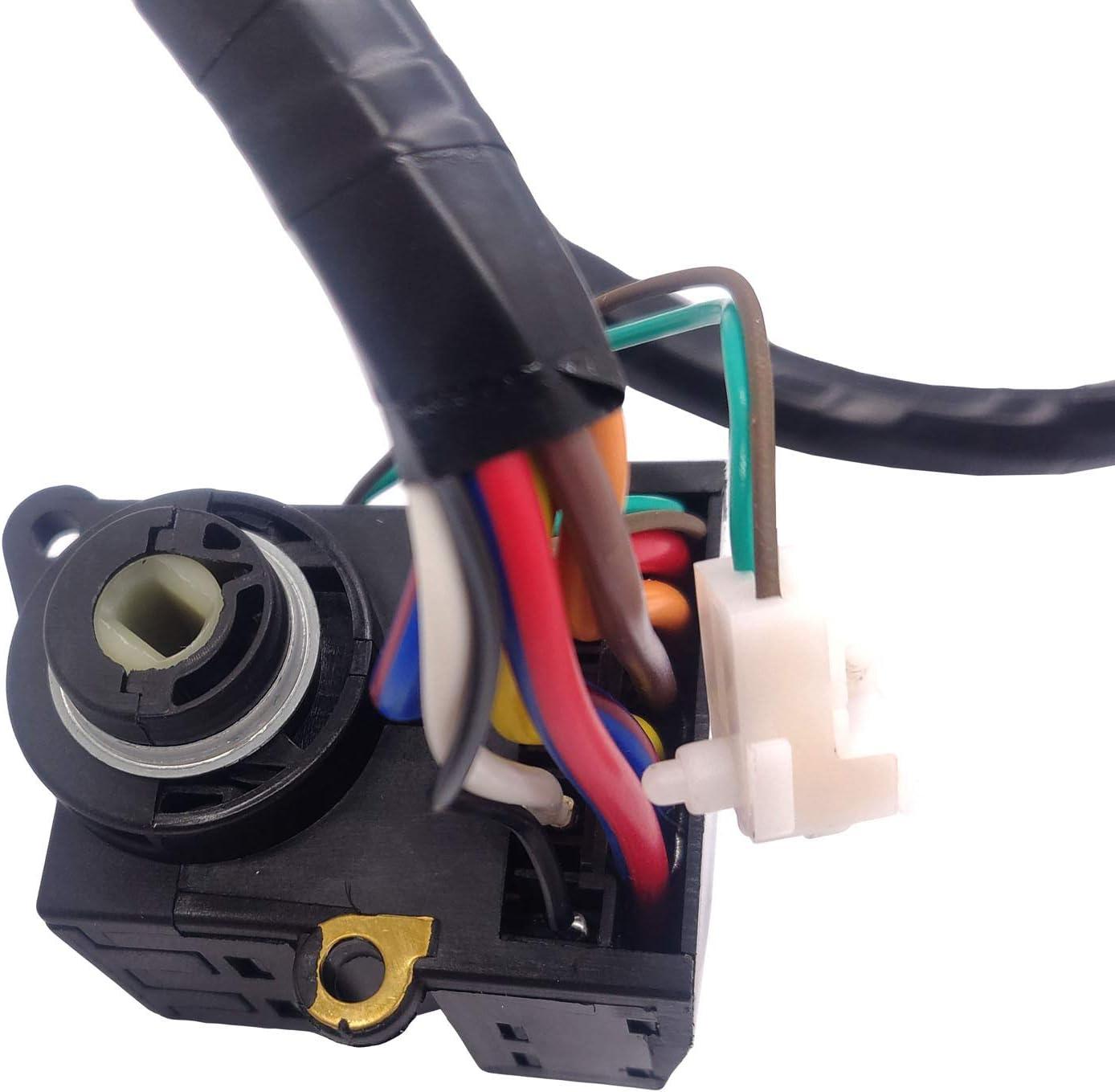 Ignition Switch for 1995-1998 Chevy C1500 Suburban K1500 Pickup S10 Tahoe Blazer GMC C1500 Pickup K1500 Pickup Suburban Yukon Jimmy Sonoma 26036311