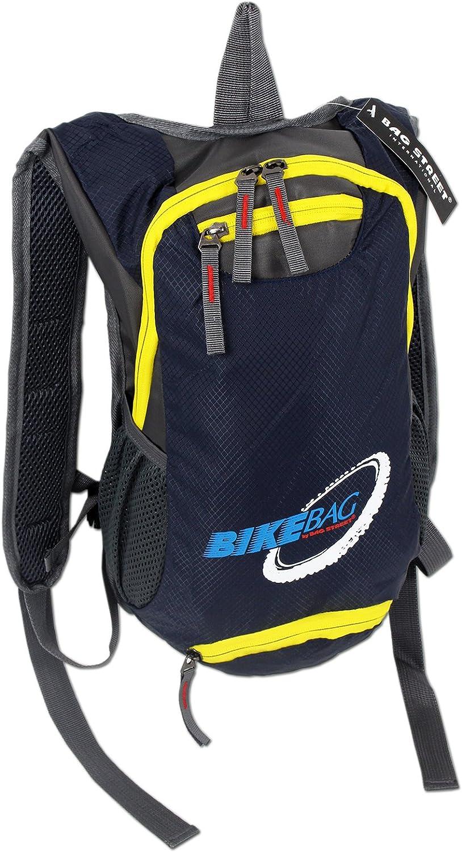 Mochila para bicicleta senderismo y deportes al aire libre Acolchada 4068 Mochila para bicicleta ultraligera en 2 colores Con cierre de seguridad adicional