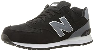 san francisco df456 03496 New Balance Men s ML574 REFLECTIVE PACK Lifestyle Sneaker, Black Grey, 8 D  US