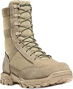 ATEMXI Botas Militares Zapatos de Cordones para Hombres Zapatos ...