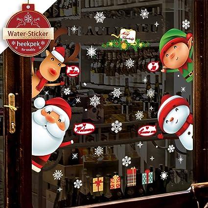 Heekpek Weihnachtsmann An Weihnachten Fensterdeko