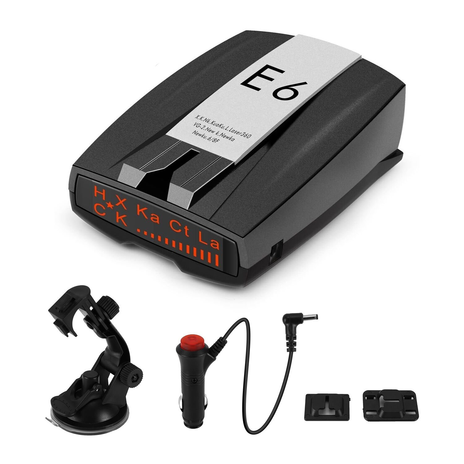 Radar Detector, FCC Approved Car Detector Laser with Voice Alert and Car Speed Alarm System for Car Auto Support Camera and Distance Alerts