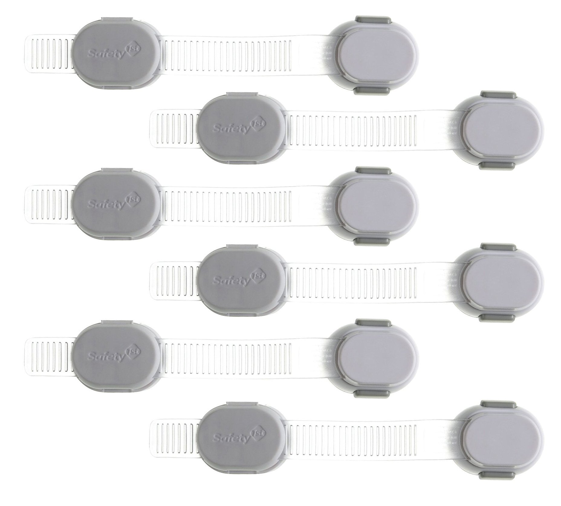 Safety 1st Adjustable Custom Fit All Purpose Strap - 6 Count