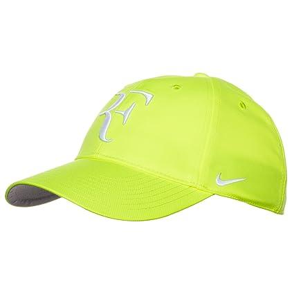 Nike RF Roger Federer Unisex Tennis Hat Cap Volt Yellow adb574c286b