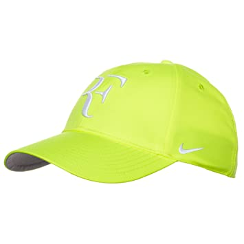 23a0654f32a Nike RF Roger Federer Unisex Tennis Hat Cap Volt Yellow  Amazon.ca  Sports    Outdoors
