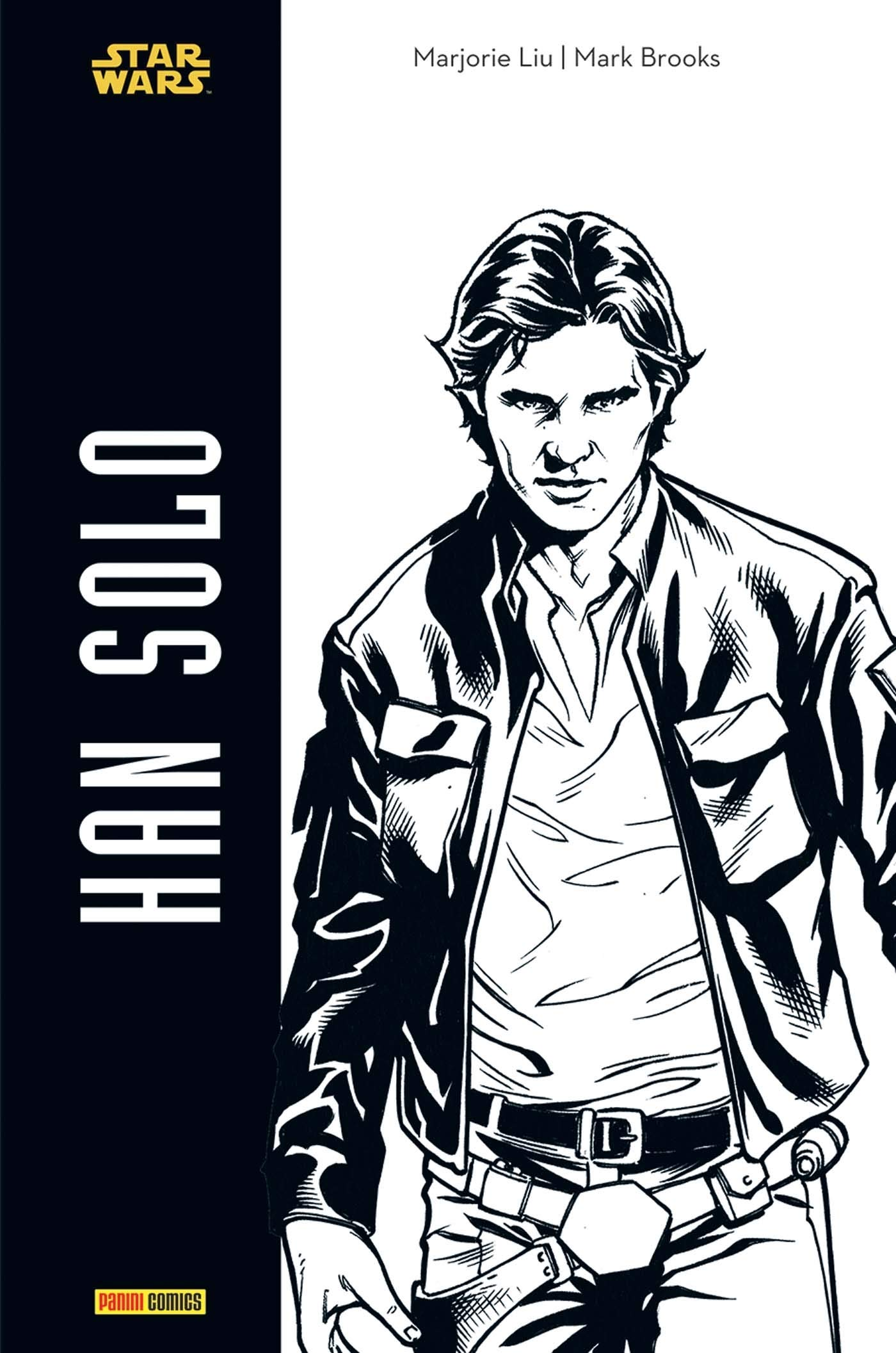 Amazonfr Star Wars Han Solo Noir Et Blanc Marjorie