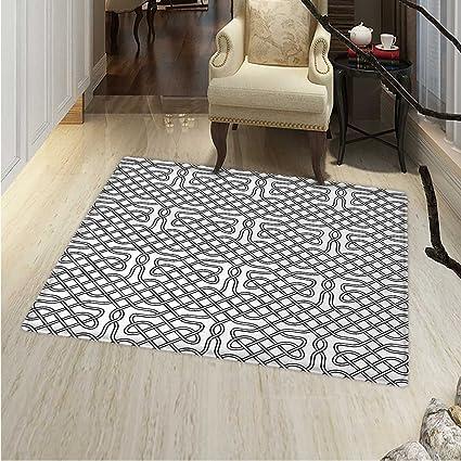 Amazon Com Celtic Floor Mat Pattern Horizontal Knotted Celtic