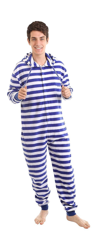Funzee NAUTISCH, Strampler für Erwachsene Ganzkörperschlafanzug, Overall  Pyjama, Einteiler, Onesie, Jumpsuit, Schlafoverall in körpergrößenabhängigen  ...