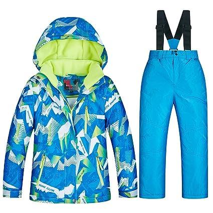 b623a09fdc22 Amazon.com  LyhomeO Children s Ski Suit Snowsuit Winter Ski Jacket ...