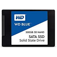 WESTERNDIGITAL【国内正規代理店品】WD 内蔵SSD 2.5インチ / 500GB / WD Blue 3D / SATA3.0 / 5年保証 / PS4メーカー動作確認済 / WDS500G2B0A-EC