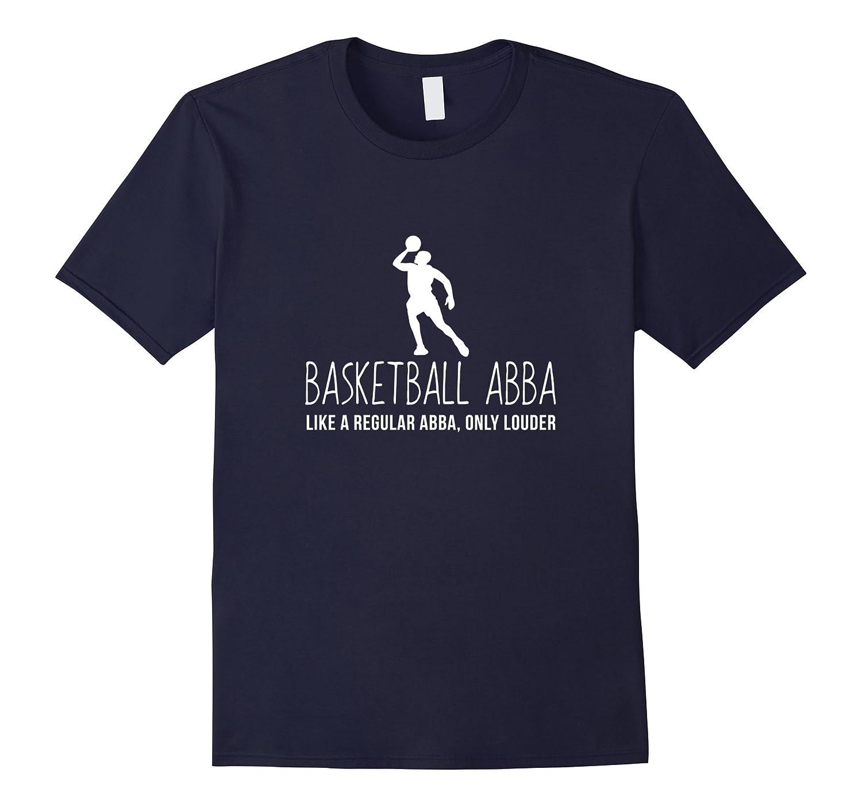 Basketball Abba Shirt, Funny Bball Gift-RT