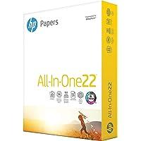 HP Printer Paper 8.5x11 AllInOne 22 lb 1 Ream 500 Sheets 96 Bright Made in USA FSC Certified Copy Paper HP Compatible…