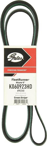 Serpentine Belt-FleetRunner Heavy Duty Micro-V Belt Gates K080525HD