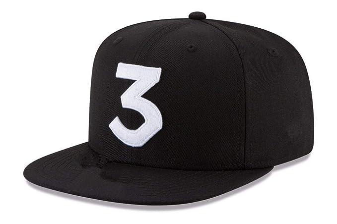 701b4ea72b4 Popular Chance The Rapper 3 Hat Cap Embroidery Baseball Cap Hip Hop  Streetwear Strapback Sun Hat
