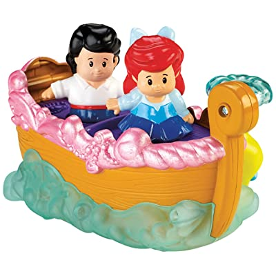 Fisher-Price Little People Disney Princess Ariel\'s Boat Ride Toy: Toys & Games [5Bkhe1401060]