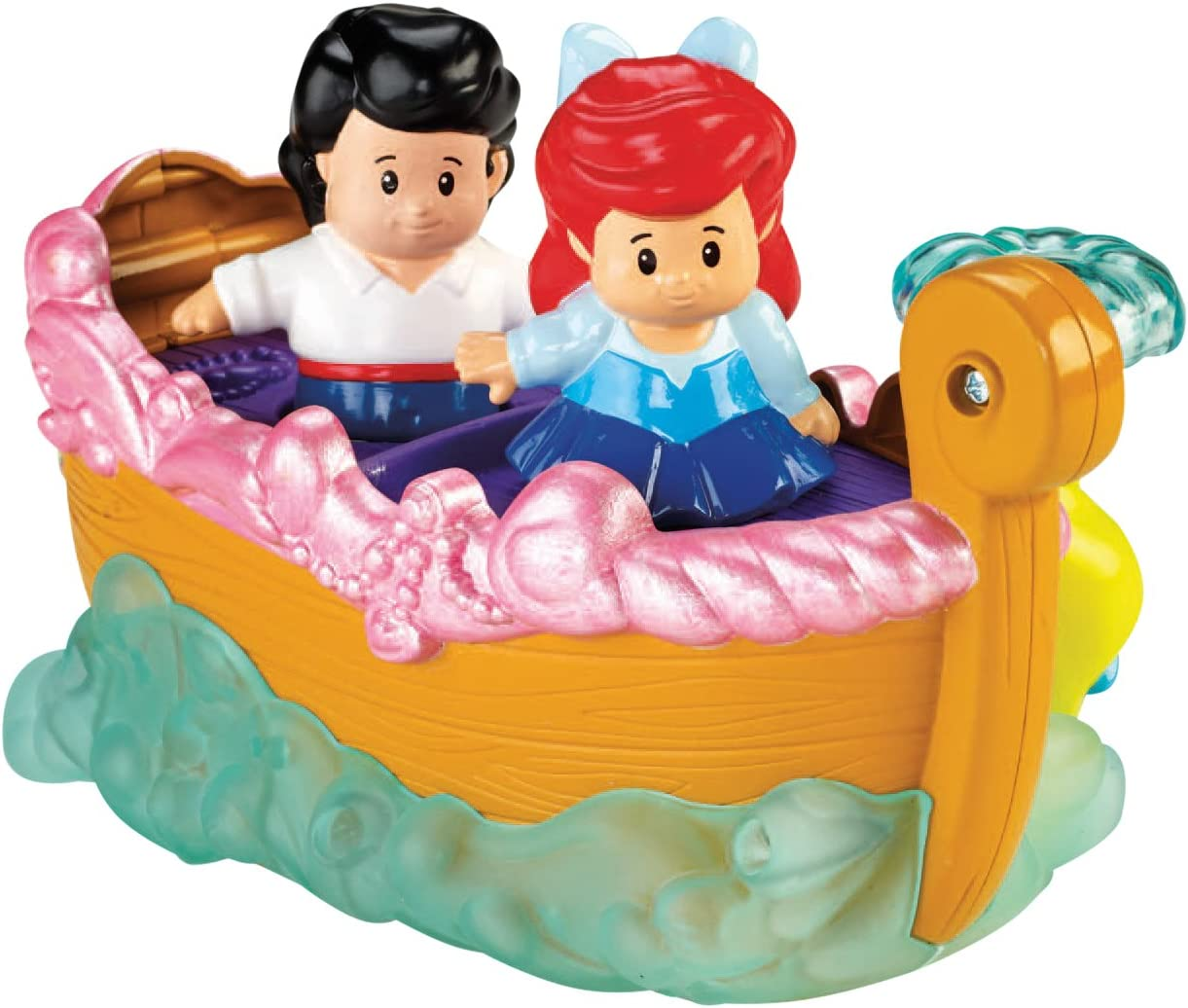 Fisher-Price Little People Disney Princess Ariels Boat Ride Toy by: Amazon.es: Juguetes y juegos