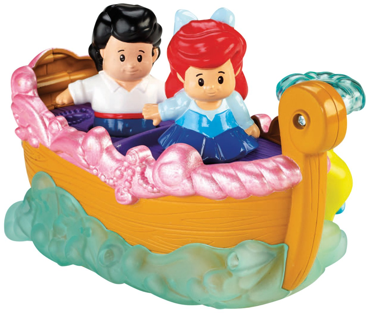 Fisher-Price Little People Disney Princess Ariel's Boat Ride Toy