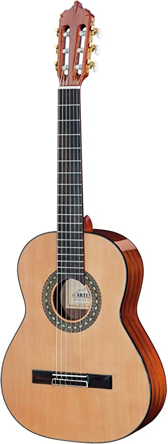 ARTESANO Estudiante XC-3/4 - Guitarra de concierto (tamaño 3/4 ...
