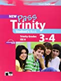 New Pass Trinity 3-4 Student's Book with CD (Examinations) by Cochrane, Stuart (2012) Paperback