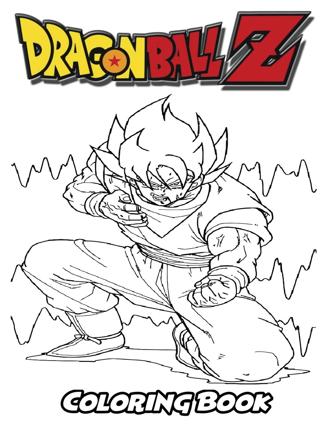 Amazon.com: Dragon Ball Z Coloring Book: Coloring Book for ...