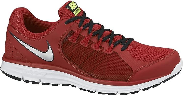 Nike Lunar Forever 3 - Zapatillas de Running para Hombre, Color Rojo/Plateado/Blanco, Talla 42: Amazon.es: Zapatos y complementos