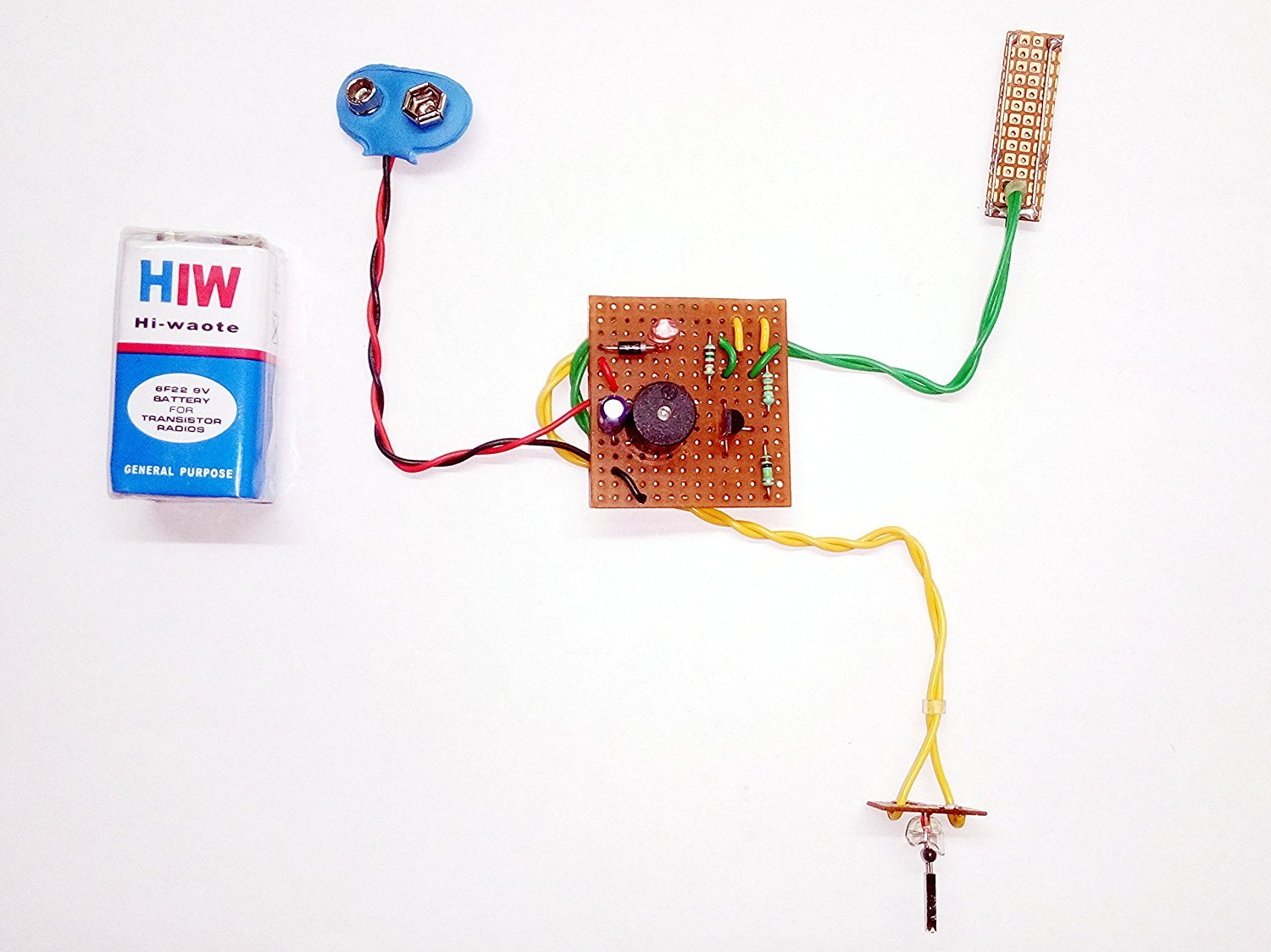 Pke Fire Rain Alarm Combo Circuit Project Dot Pcb Amazon Simple Detector And Explanation Electronic Circuits