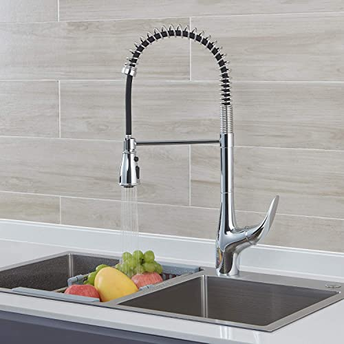 AOSGYA Commercial Chrome Single Handle Kitchen Sink Faucets