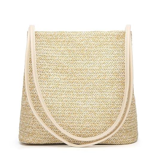 Amazon.com  WILLTOO Clearance Womens Bucket Shape Totes Handbag Crocodile  Leather Crossbody Shoulder Bag (Beige)  Clothing 0be4645bc