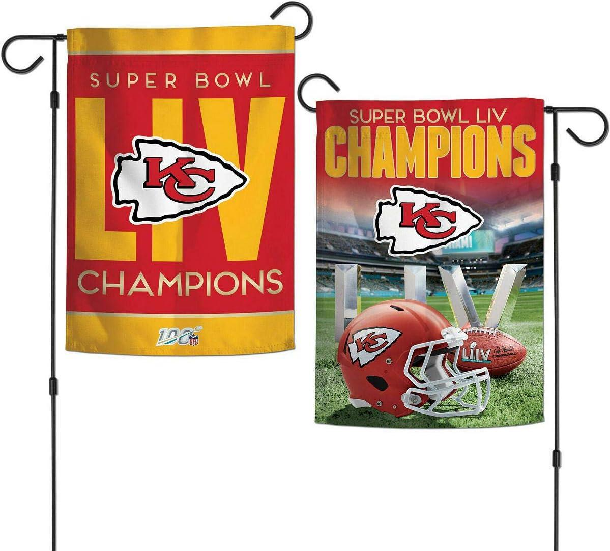 Rico Super Bowl LIV Champions Kansas City Chiefs Pennant