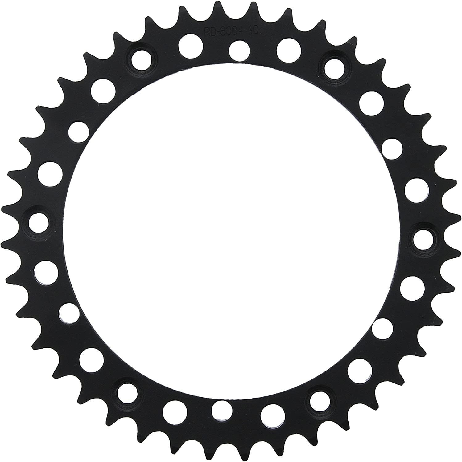 1998-2000 fits Yamaha YFM 350 Warrior Yellow O-Ring Chain /& Black Sprocket 14//40 98L