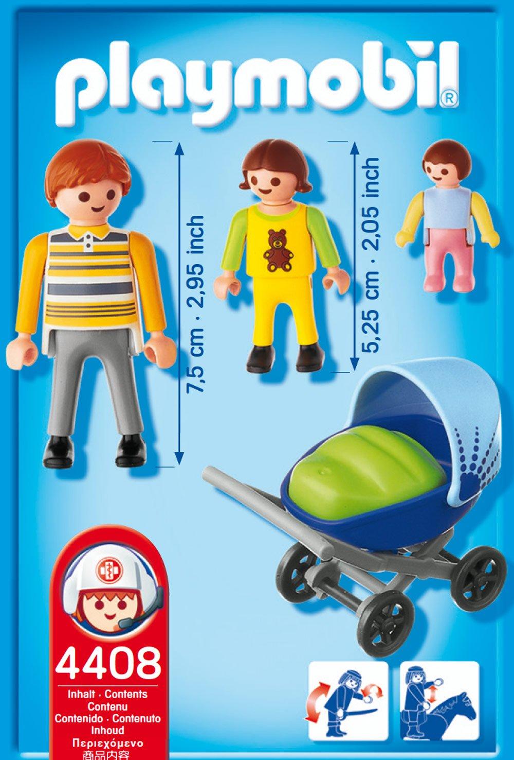 Playmobil 626091 - Hospital Papá C/ Carrito Bebé: Amazon.es: Juguetes y juegos
