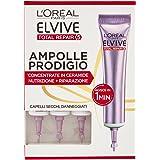 l'Oréal Paris Elvive Total Repair 5 Ampolle Prodigio, Siero per Capelli Secchi o Danneggiati, Confezione da 3 Pezzi