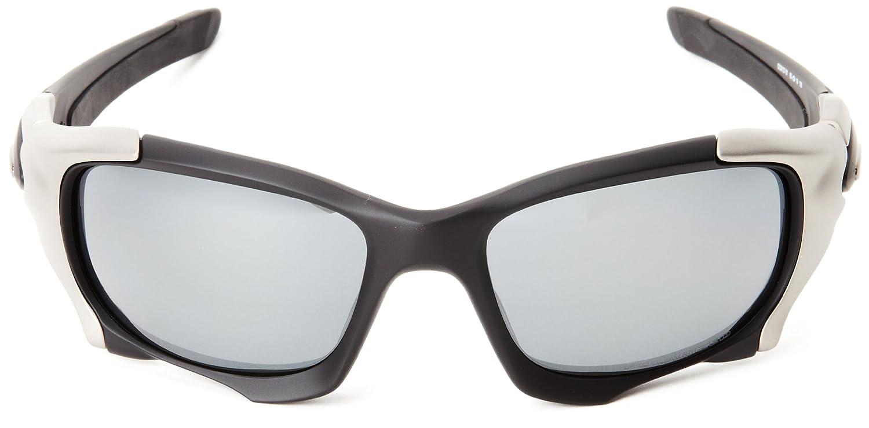Oakley Pit Boss II OO9137-01 Polarized Iridium Round Sunglasses ... 24fdb5360d
