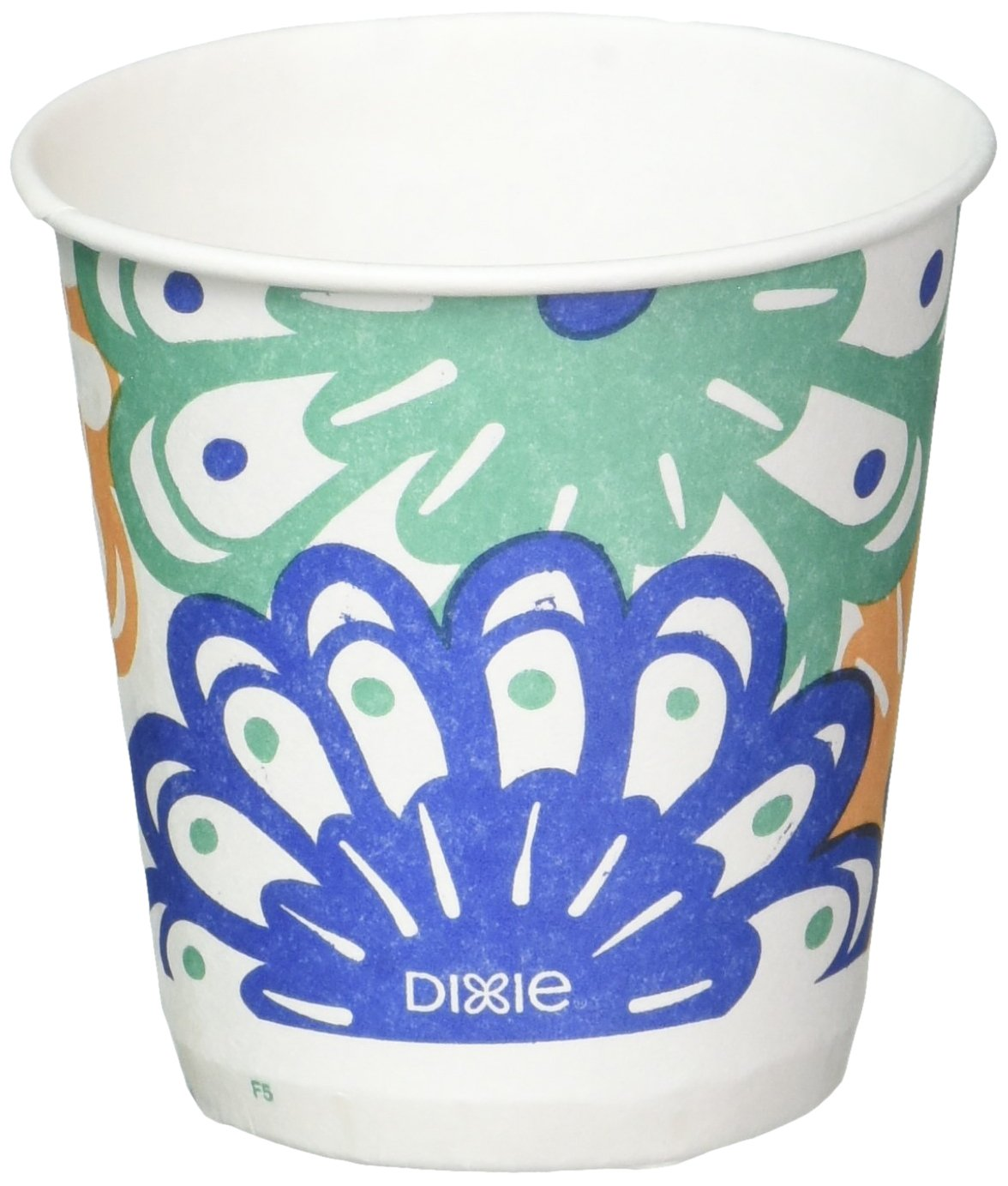 Dixie Disposable Bathroom Cups, Coordinating Design 3 oz. - 1200 Cups