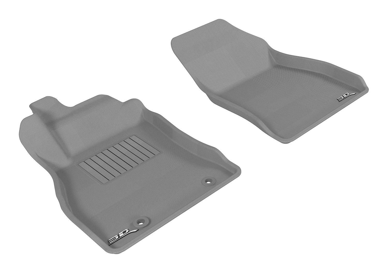 3D MAXpider Cargo Custom Fit All-Weather Floor Mat for Select Nissan Juke Models M1NS0311302 Kagu Rubber Tan