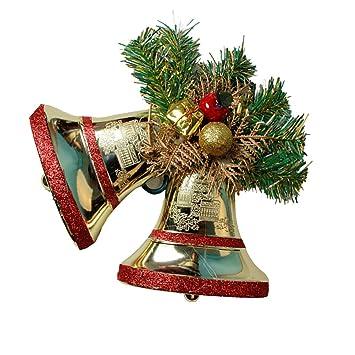 Amazon.com: Kerocy Shining Glitter Powder Jingle Bell Shatterproof Party Christmas  Ornament Xmas Tree Decor Ball Hanging Ornament Decoration: Home & Kitchen - Amazon.com: Kerocy Shining Glitter Powder Jingle Bell Shatterproof