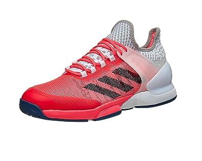 half off 113da 63bb1 adidas - Chaussures de Tennis Adizero Ubersonic 2 M Orange Gris
