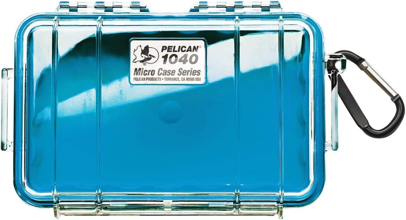 Pelican 1040 Micro Case (Aqua/Clear)